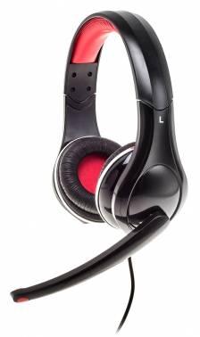 Наушники с микрофоном Oklick HS-L340G DARK SIDE черный