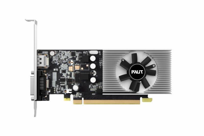 Видеокарта Palit GeForce GT 1030 2048 МБ (NE5103000646-1080F) - фото 2