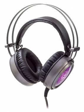 Наушники с микрофоном Oklick HS-L600G STEEL SOUND черный