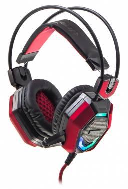 Наушники с микрофоном Oklick HS-L900G HURRICANE черный