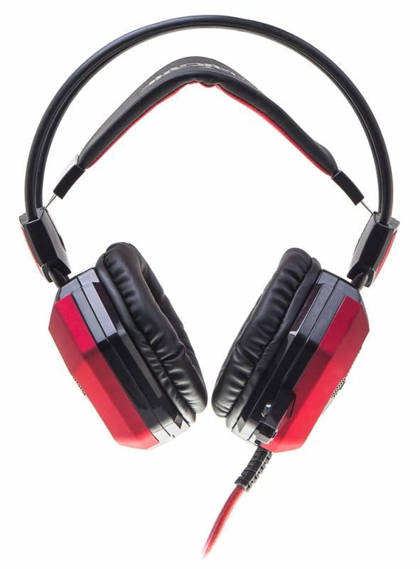 Наушники с микрофоном Oklick HS-L900G HURRICANE черный - фото 2