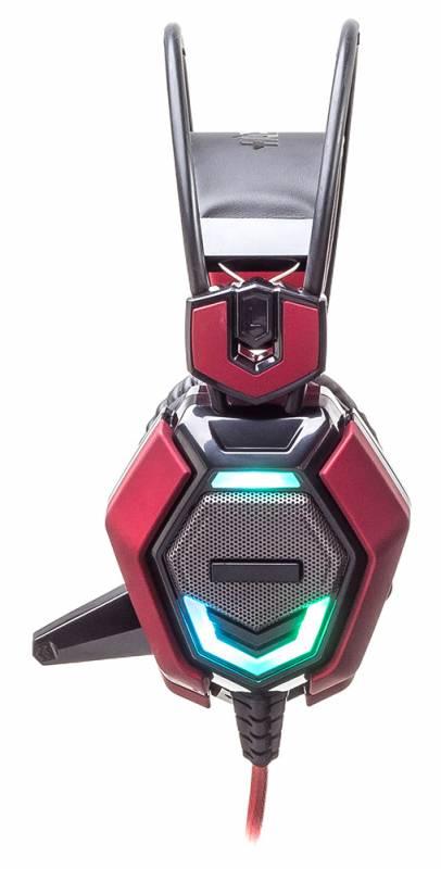 Наушники с микрофоном Oklick HS-L900G HURRICANE черный - фото 4