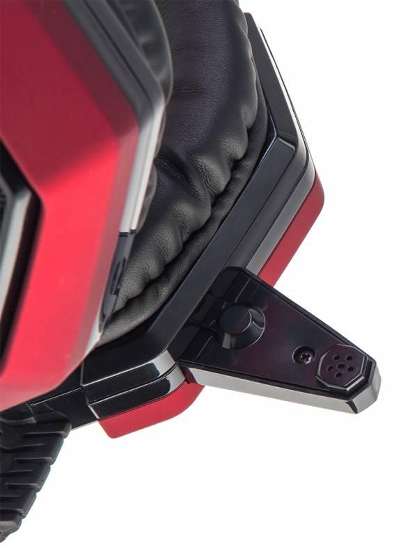 Наушники с микрофоном Oklick HS-L900G HURRICANE черный (HS-L900G) - фото 6