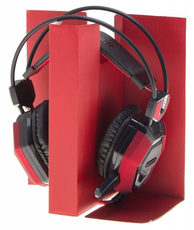 Наушники с микрофоном Oklick HS-L900G HURRICANE черный (HS-L900G) - фото 8