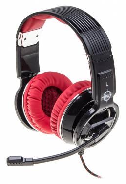 Наушники с микрофоном Oklick HS-L350G RED WAR черный