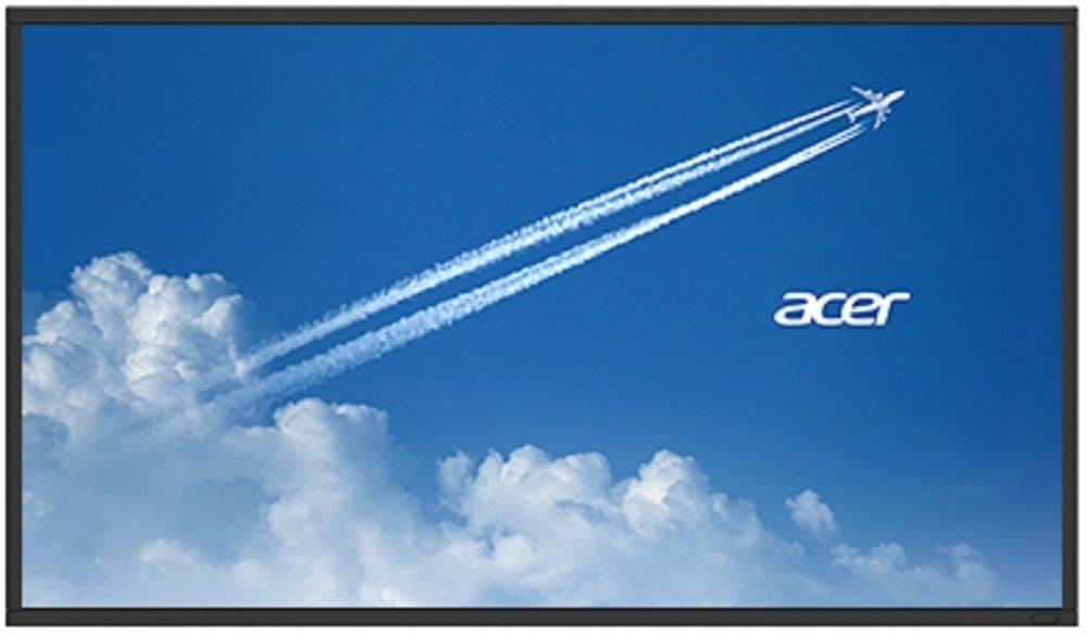 """Профессиональная LCD панель 65"""" Acer DV653bmidv черный (UM.ND0EE.009) - фото 1"""