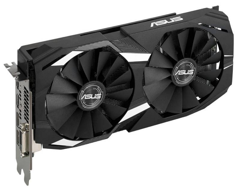 Видеокарта Asus Radeon RX 580 4096 МБ (DUAL-RX580-O4G) - фото 1