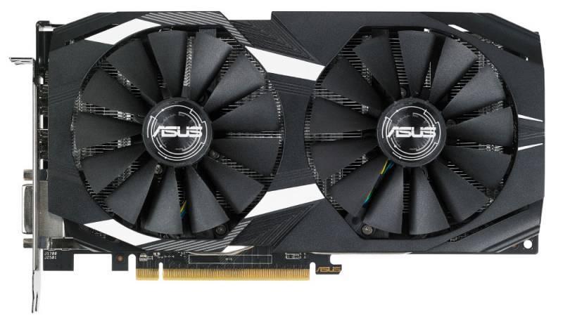 Видеокарта Asus Radeon RX 580 4096 МБ (DUAL-RX580-O4G) - фото 2