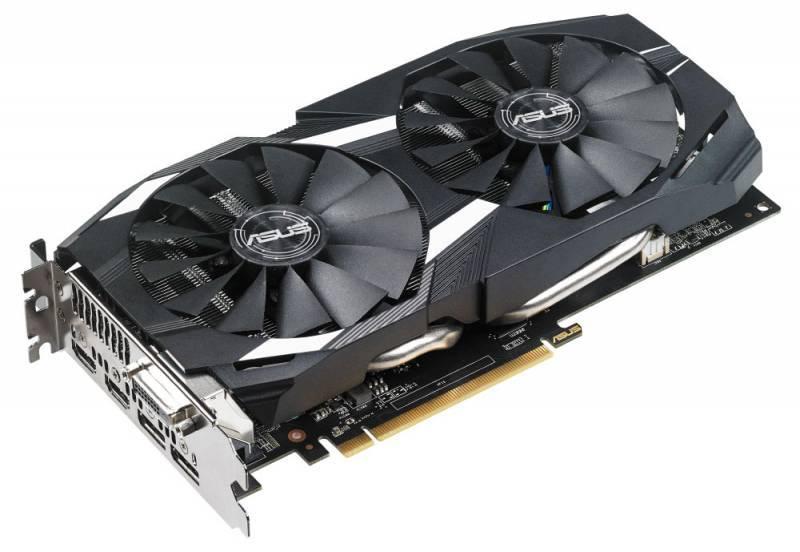 Видеокарта Asus Radeon RX 580 4096 МБ (DUAL-RX580-O4G) - фото 4