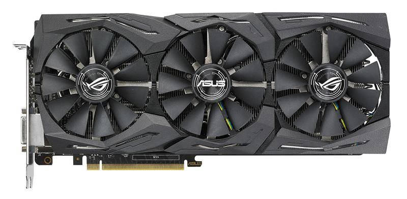 Видеокарта Asus GeForce GTX 1080TI 11264 МБ (ROG-STRIX-GTX1080TI-O11G-GAMIN) - фото 1