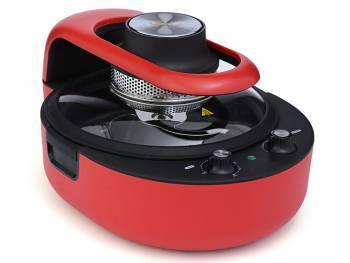 Аэрогриль Kitfort KT-1621-2 красный / черный