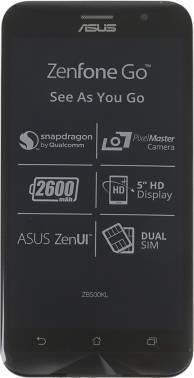Смартфон Asus Zenfone Go ZB500KL 32ГБ черный