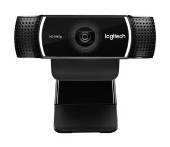 Веб-камера Logitech Pro Stream C922 черный / черный