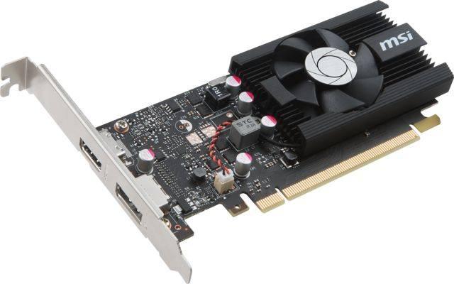 Видеокарта MSI GeForce GT 1030 2048 МБ (GEFORCE GT 1030 2G LP OC) - фото 3
