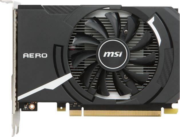Видеокарта MSI GeForce GT 1030 2048 МБ (GEFORCE GT 1030 AERO ITX 2G OC) - фото 4