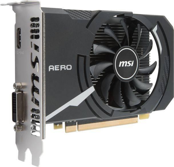 Видеокарта MSI GeForce GT 1030 2048 МБ (GEFORCE GT 1030 AERO ITX 2G OC) - фото 7