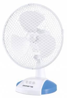 Вентилятор настольный Polaris PDF 0223R белый / голубой