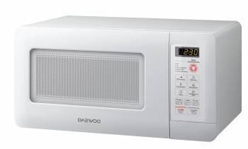 Микроволновая Печь Daewoo KOR-5A0BW белый, мощность 500Вт, объем 15л, механическое управление