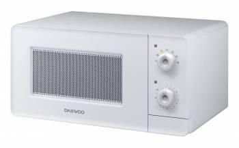 Микроволновая Печь Daewoo KOR-5A37W белый, мощность 500Вт, объем 15л, механическое управление