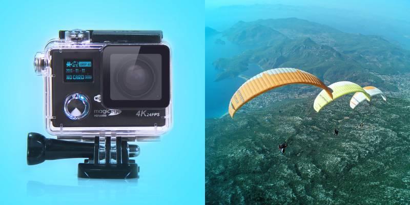 Экшн-камера Gmini MagicEye HDS6000 черный - фото 2