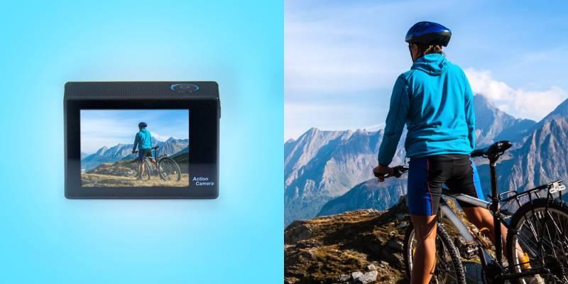 Экшн-камера Gmini MagicEye HDS6000 черный - фото 3