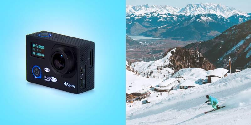 Экшн-камера Gmini MagicEye HDS6000 черный - фото 4