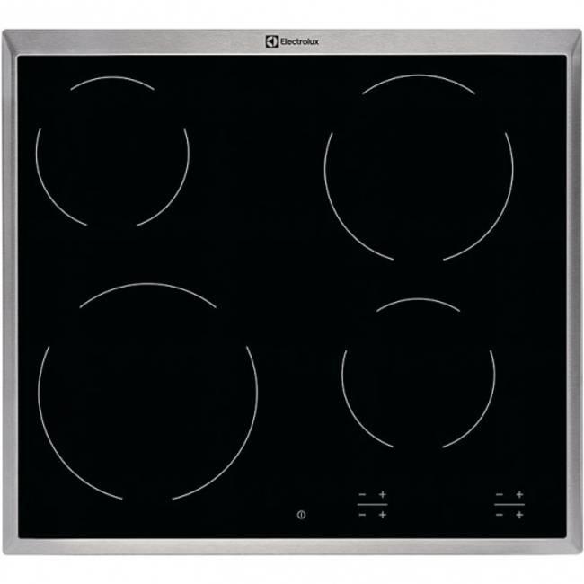 Варочная поверхность Electrolux CPE6420KX черный - фото 1