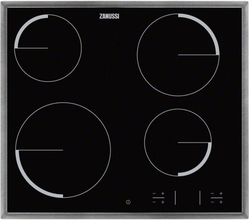 Варочная поверхность Zanussi ZEV56340XB черный - фото 1