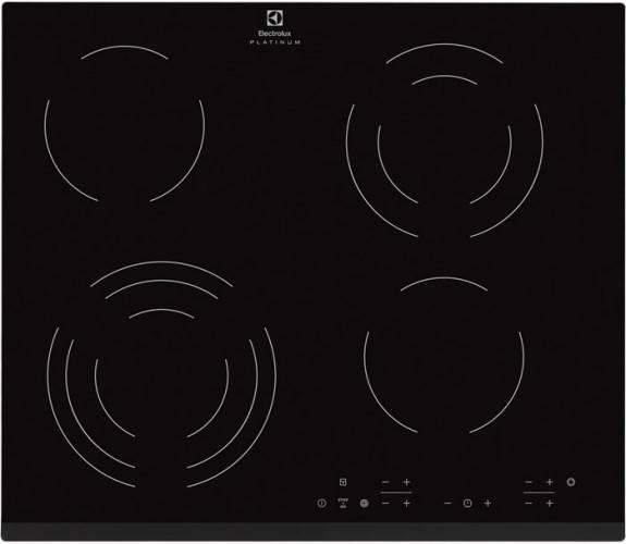 Варочная поверхность Electrolux CPE6433KF черный - фото 1