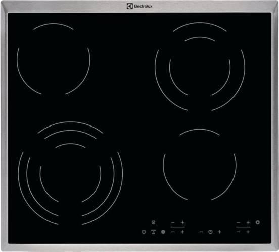 Варочная поверхность Electrolux CPE6433KX черный - фото 1
