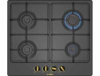 Газовая варочная поверхность Bosch PGP6B3B60 черный