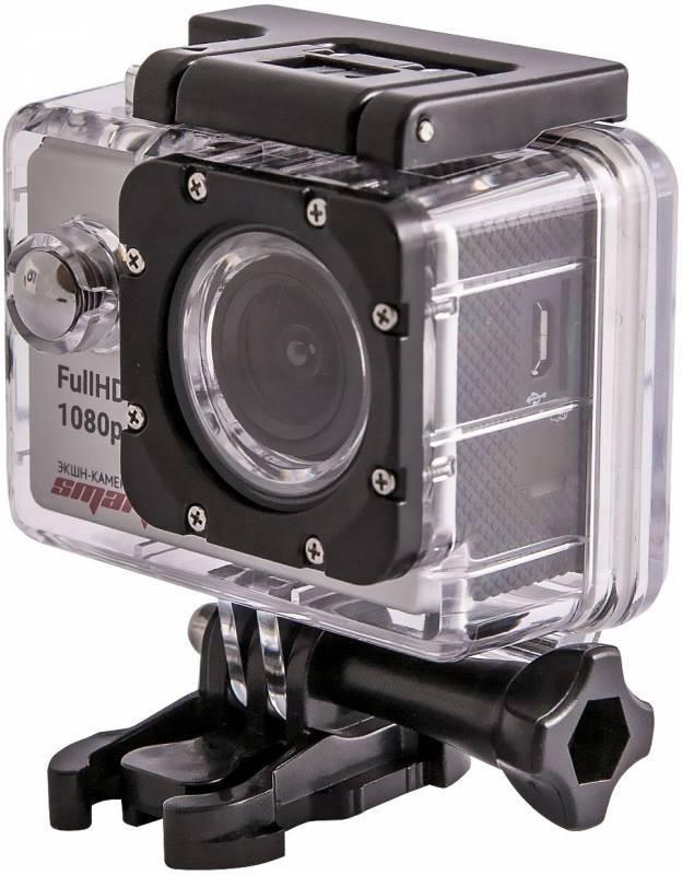 Экшн-камера Smarterra B4 серебристый - фото 2