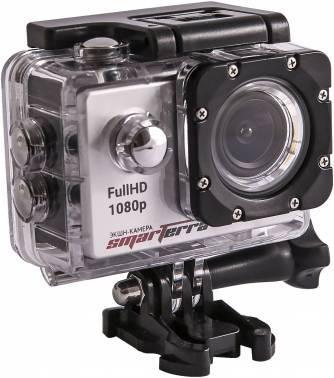 Экшн-камера Smarterra B4+ серебристый