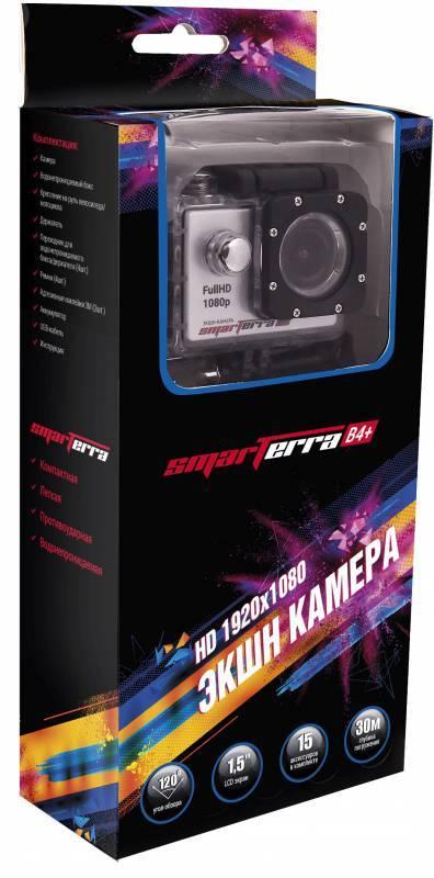 Экшн-камера Smarterra B4+ серебристый - фото 8
