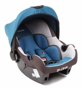 Автокресло детское Nania Beone SP LX (agora petrole) синий / черный
