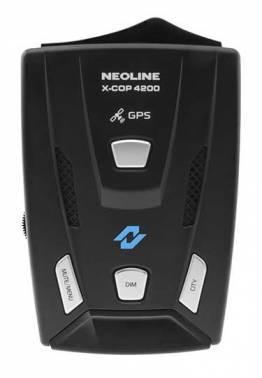 Радар-детектор Neoline X-COP 4200, LED дисплей, GPS приемник, диапазоны X, K, Ka, Laser, СТРЕЛКА СТ/М
