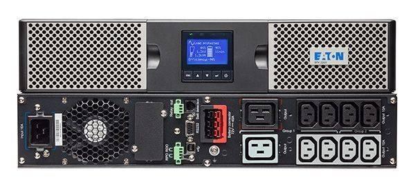ИБП Eaton 9PX 1000i RT2U черный (9PX1000IRT2U) - фото 1
