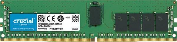 Модуль памяти DIMM DDR4 1x16Gb Crucial CT16G4RFS424A - фото 1