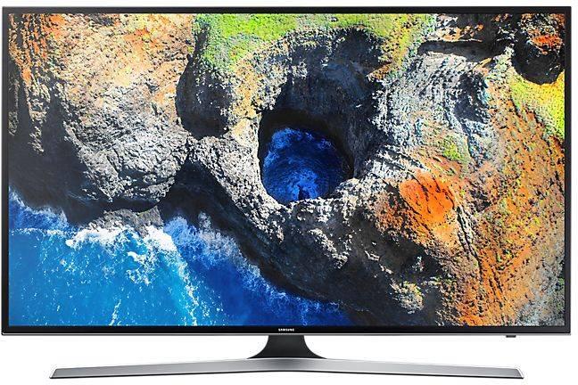 """Телевизор LED 55"""" Samsung UE55MU6100UXRU черный - фото 1"""