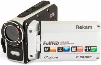 Видеокамера Rekam DVC-380 серебристый (2504000003)