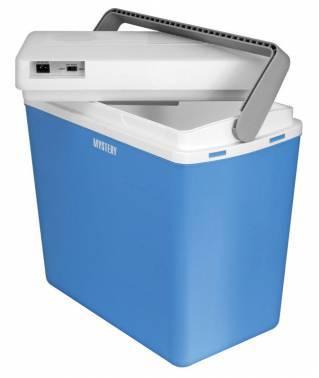 Автохолодильник Mystery MTC-243 голубой / белый