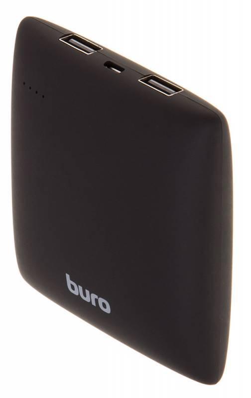 Мобильный аккумулятор BURO RA-7500PL-BK Pillow черный (RA-7500PL-BK) - фото 1