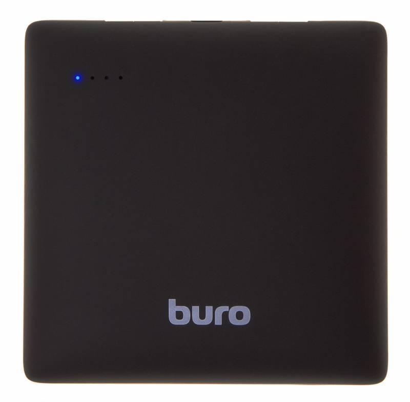 Мобильный аккумулятор BURO RA-7500PL-BK Pillow черный - фото 2