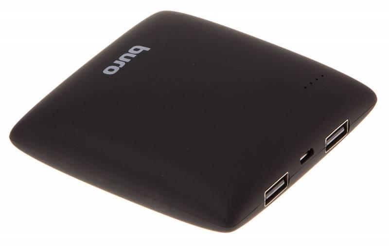 Мобильный аккумулятор BURO RA-7500PL-BK Pillow черный - фото 5