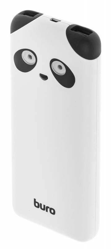 Мобильный аккумулятор BURO RA-10000PD-WT Panda белый (RA-10000PD-WT) - фото 1