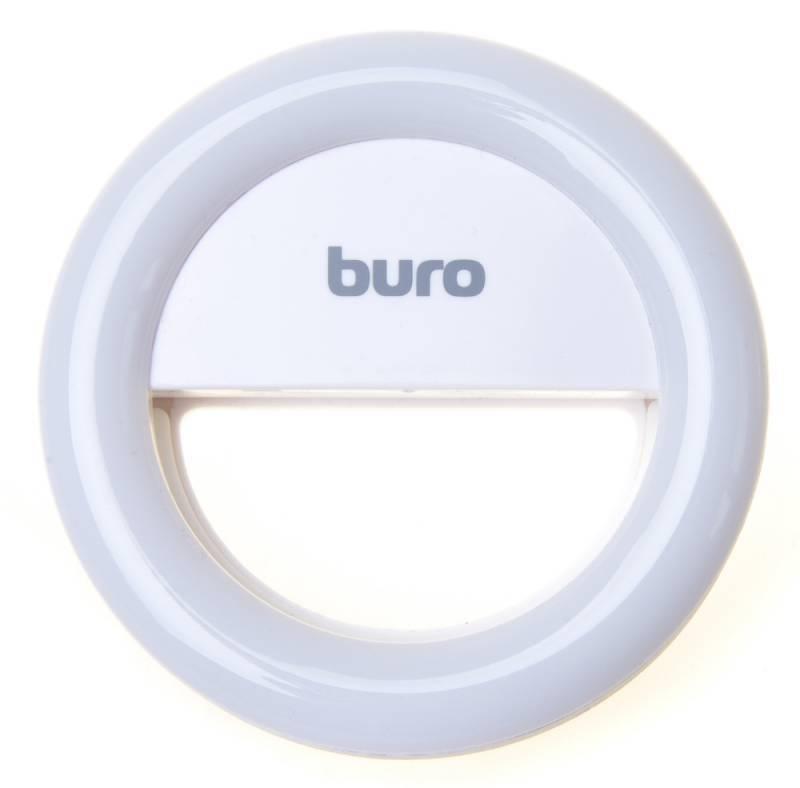Вспышка для селфи Buro RK-14-WT белый - фото 1