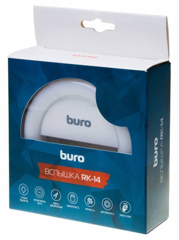 Вспышка для селфи Buro RK-14-WT белый - фото 7