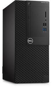 ПК Dell Optiplex 3050 черный/серебристый, процессор Intel Core i3 6100, оперативная память 4Gb, жесткий диск 500Gb 7.2k, видеокарта Intel HD Graphics 530, привод DVDRW, minitower, Linux, Eth, в комплекте клавиатура+ мышь
