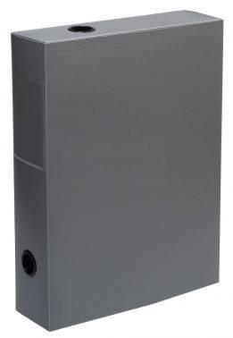 Папка архивная на кнопке Silwerhof Basic 255079-11 серый