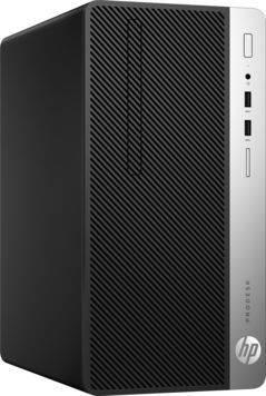Системный блок HP ProDesk 400 G4 черный (1JJ52EA)